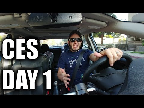 On the road to Las Vegas! #CES2018 Vlog 1