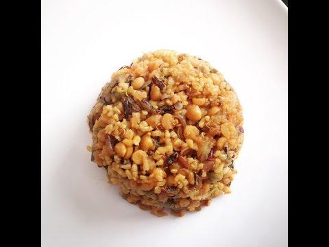 One pot Lentils Rice recipe (Healthy Chana Dal Khichdi Recipe)