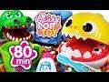 September 2018 TOP 10 Videos 80min Baby Shark Tayo Pororo Baby Doll PinkyPopTOY