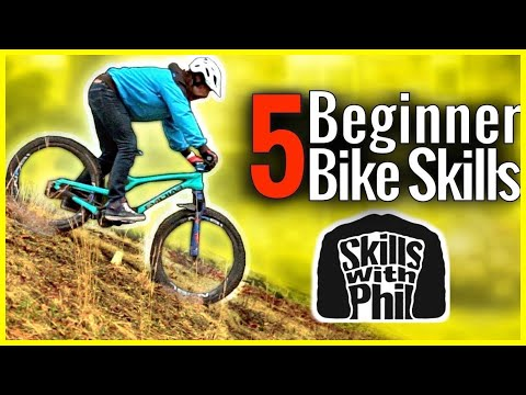 5 Beginner bike skills that you can learn without trails!!