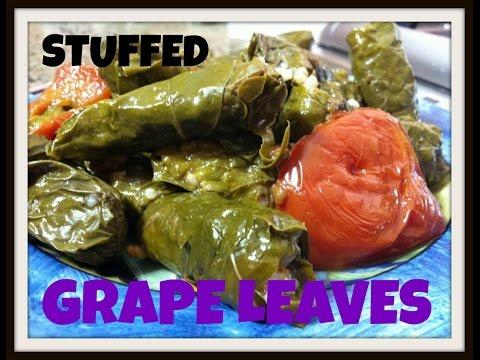 Warak Dawali or Ennab- Stuffed Grape Leaves Made Easy