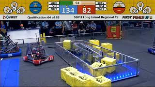 Qual 64 - 2018 SBPLI Long Island Regional #2