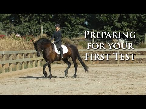 Preparing for Your First Test (training/prelim level) - Dressage Mastery TV Ep62