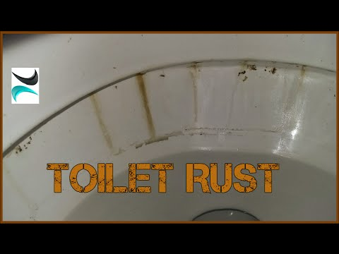 What Causes Toilet Bowl Rust? - How do I Clean Toilet Stains? test for scratching