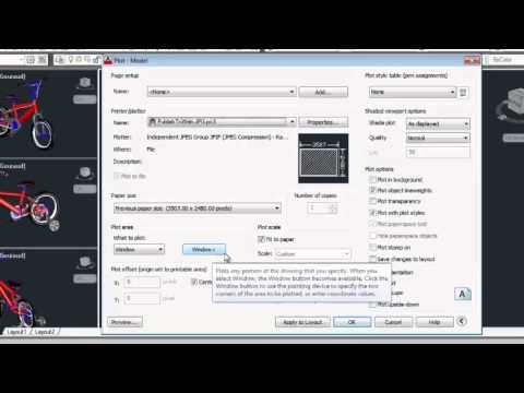 AutoCAD High Resolution Jpeg