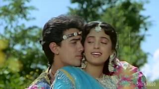 Tum Mere Ho Title Song   Aamir Khan   Juhi Chawla   Udit Narayan   Anupama   Ana