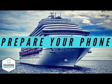 How To Prepare Your Phone For a CRUISE - 5 Step Travel Prep Tutorial
