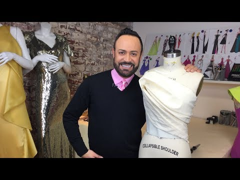 Draping A Couture Petal Top