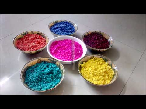 Super Easy technique to make color from Crystal Salt | DIY Crystal Salt color by Shital Mahajan