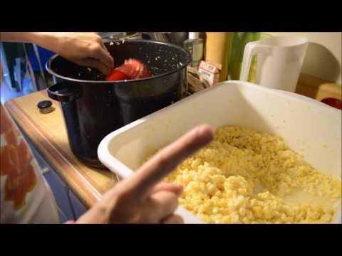 Canning Cream Style Corn