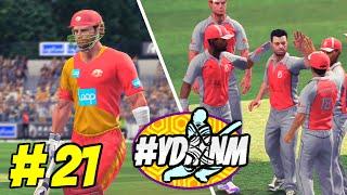 #YDMNM GAME 21 - ISLAMABAD UNITED v KINGS XI PUNJAB 20 OVER MATCH