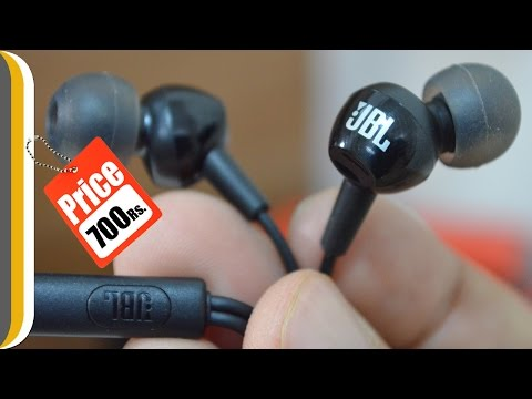 JBL C100SI In-Ear Headphones with Mic Review | BEST BUDGET EARPHONES ?