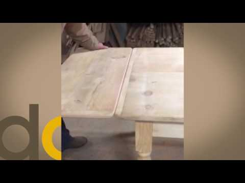 The Stow Leaf Dining Table at DutchCrafters