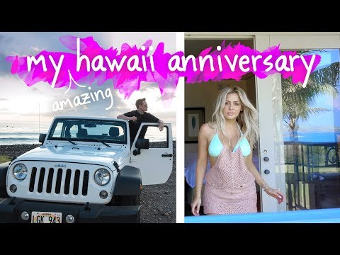 My Amazing Hawaii Anniversary Vacation - Vlog