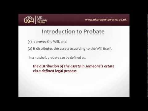 Probate Specialists Discuss Probate Concepts and Process