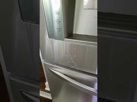 My new LG fridge is leaking water!