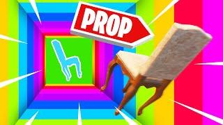 Use PROPS To ESCAPE The FORTNITE DROPPER!
