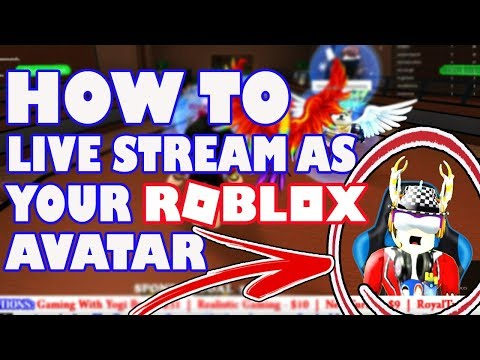 How To Live Stream As Your Roblox Avatar - Adobe Character Animator Tutorial 2018