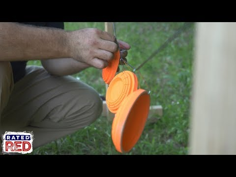 3 DIY Clay Plinking Targets