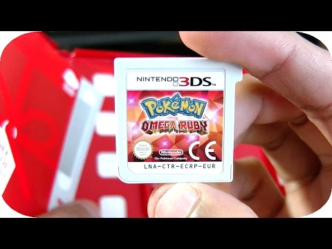 Pokemon Omega Ruby 3DS Unboxing and First Impressions Gameplay!