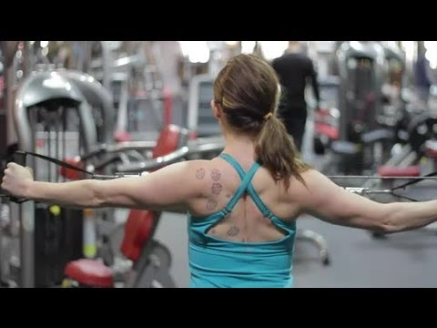 Exercises for the Middle Back Muscles or Rhomboids : Building Muscles & Getting Fit