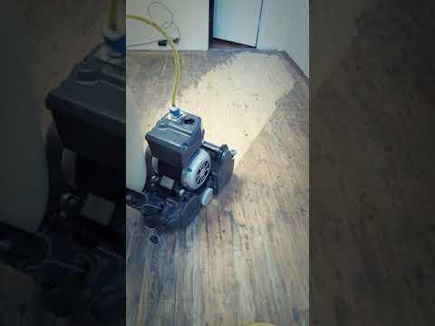 Knotty Pine Floor Refinish
