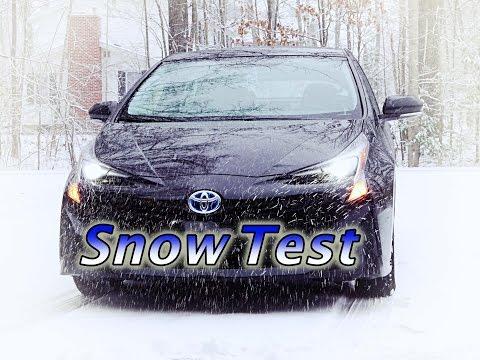Snow + Prius = ???