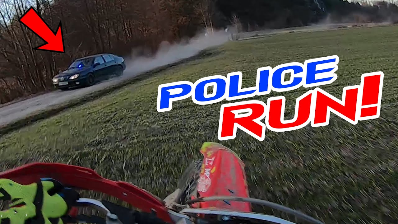Police Chase Dirt Bikers - Motorcycle VS Cops Compilation 2021