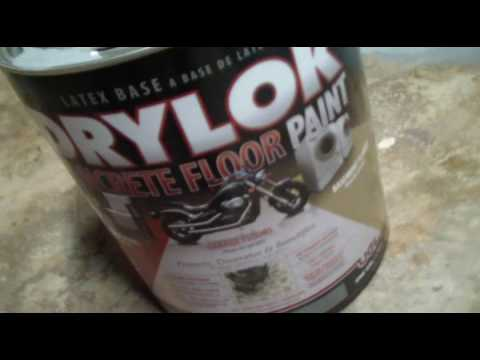 Painting the Basement Floor After Black Mastic Removed, Home Remodel Fixer Upper Part 17