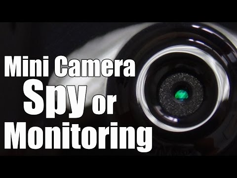 Mini Wireless IP Camera: Small Enough For Spy Monitoring