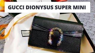 ce3ab1cce GUCCI DIONYSUS BAGS REVIEW: MINI VS SUPER MINI? - PakVim.net HD ...
