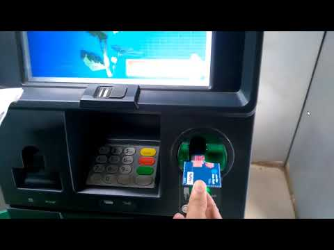 Card to Account Fund Transfer through SBI ATMs in Hindi - हिंदी