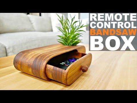 MODERN REMOTE CONTROL BANDSAW BOX || DIY