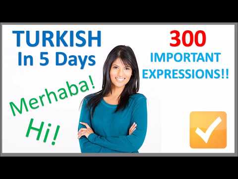 Learn Turkish in 5 Days - Conversation for Beginners