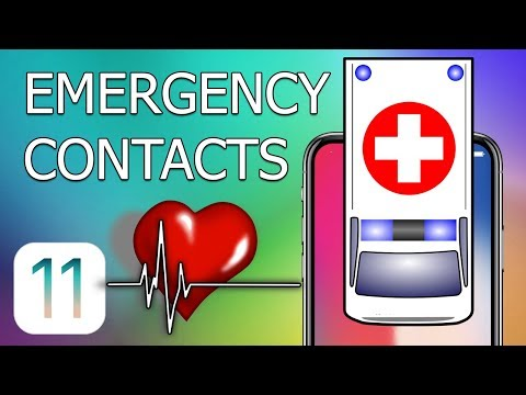 How to Set Up Emergency Contacts on iPhone with iOS 11