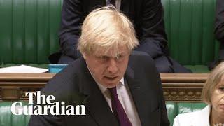 Emily Thornberry asks Boris Johnson why he is