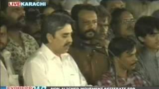 A remorseful Aamir Khan addresses MQM workers