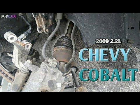 CV-AXLE REPLACEMENT (2005-2010 CHEVY COBALT)