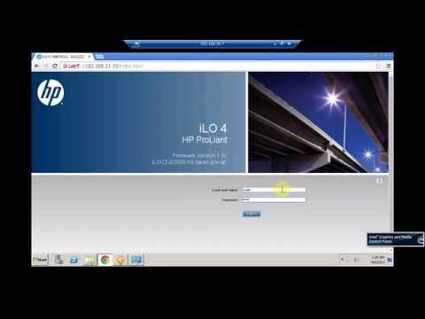 Configuring İLO on HP Proliant Gen8 Servers