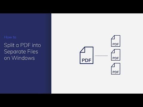 Split a PDF into Separate Files on Windows with PDFelement