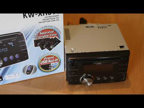 JVC KW-XR611 Double DIN CD/USB/Aux Car Stereo review