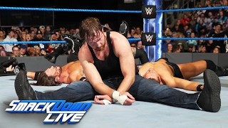 Dean Ambrose vs. AJ Styles vs. The Miz vs. Baron Corbin - Fatal 4-Way: SmackDown LIVE, Feb. 7, 2017