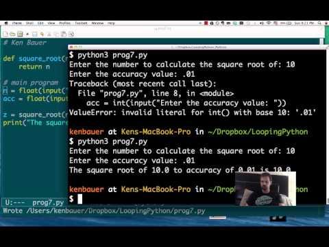 TC1014: Python Loops Number7