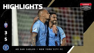SCCL2020: AD San Carlos vs New York City FC | Highlights
