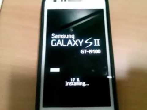 Samsung Galaxy S2 (GT-I9100) Official Android ICS 4.0.3 update  Firmware Over The Air (FOTA)