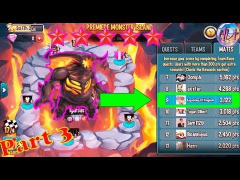 Monster Legends | Premier Monster Race Part 3 | Contributing 3K Pts