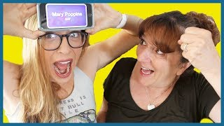 Playing Heads Up with My Mom!!!
