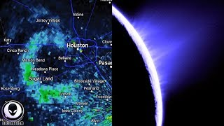 MILES WIDE Structure Recorded Above Texas