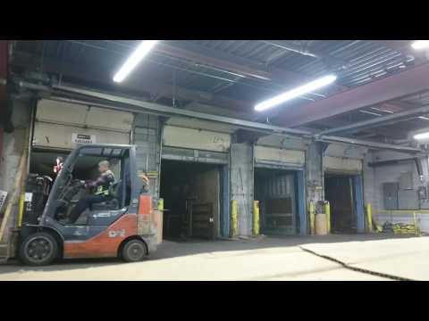 Forklift basic warehouse.