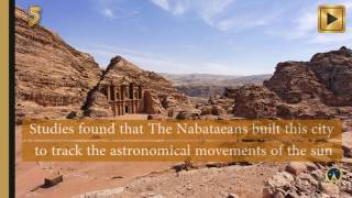 13 Amazing facts about the Ancient Rock city of Petra